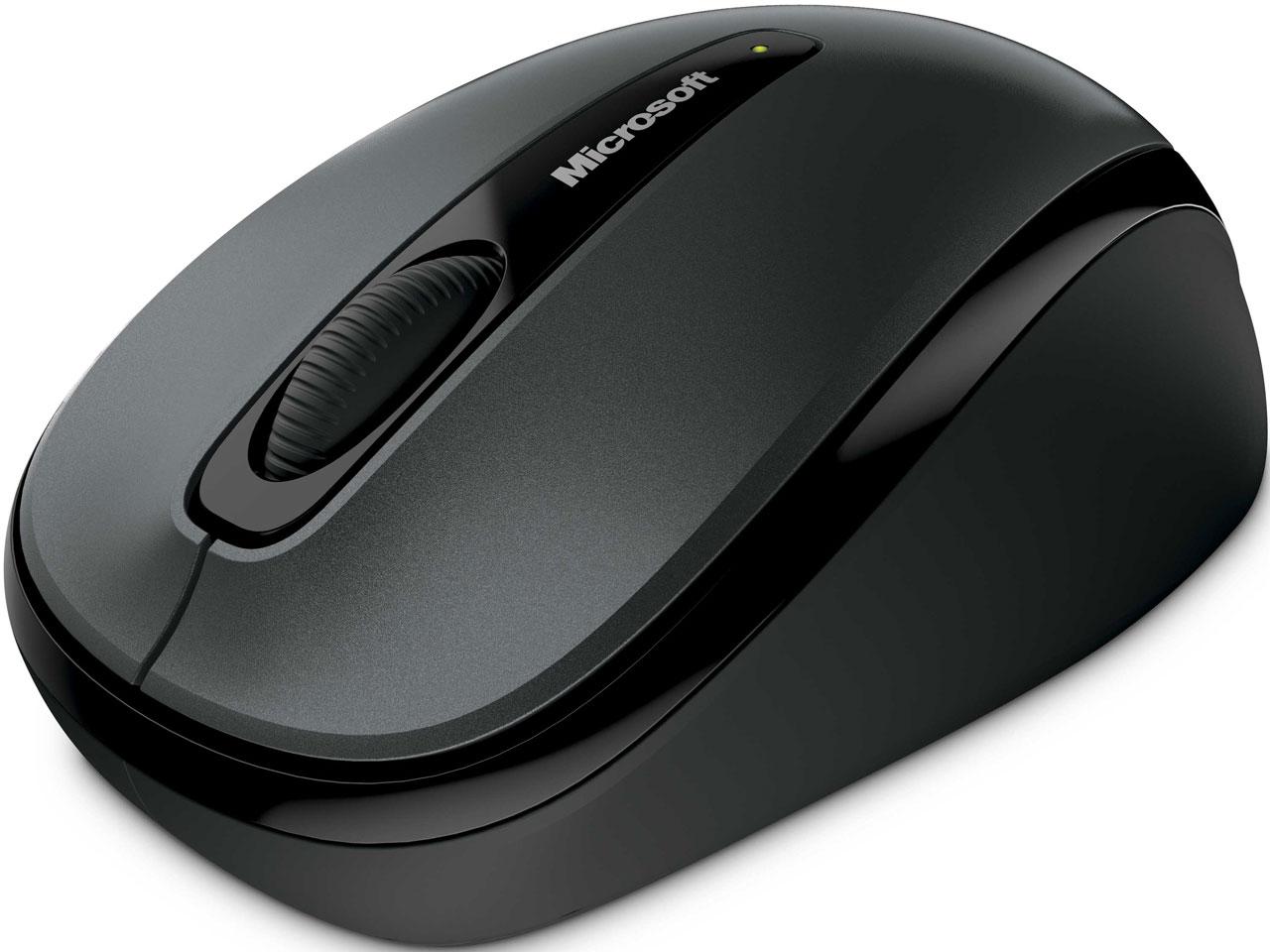 『本体 上面』 Wireless Mobile Mouse 3500 GMF-00298 [ユーロ シルバー] の製品画像