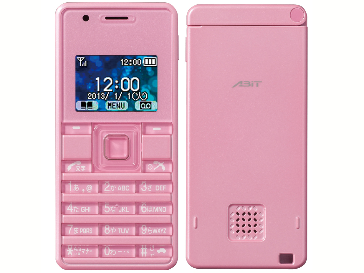 ストラップフォン2 WX06A [ピンク] の製品画像