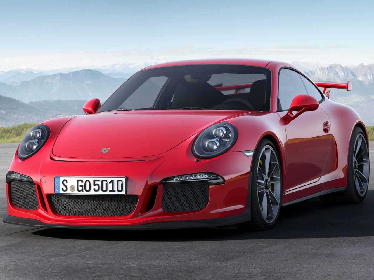 ポルシェ 911GT3 2013年モデル 新車画像