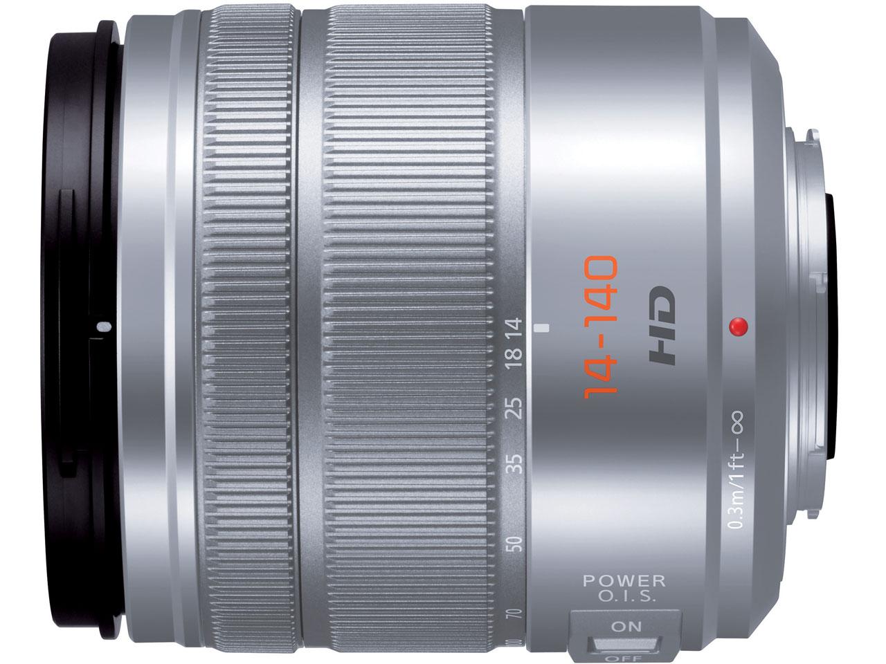 『本体』 LUMIX G VARIO 14-140mm/F3.5-5.6 ASPH./POWER O.I.S. H-FS14140-S [シルバー] の製品画像