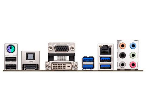 『本体 接続端子』 Z87M-PLUS の製品画像