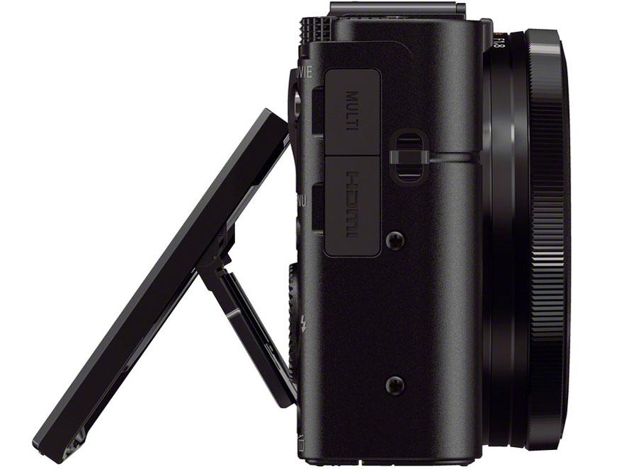 『本体 左側面』 サイバーショット DSC-RX100M2 の製品画像