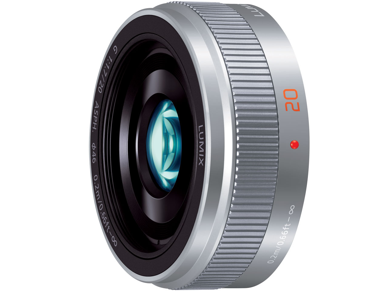 LUMIX G 20mm/F1.7 II ASPH. H-H020A-S [シルバー] の製品画像