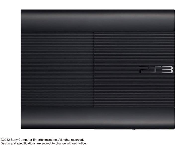 『本体 横置き 上面』 プレイステーション3 HDD 250GB チャコール・ブラック CECH-4200B の製品画像