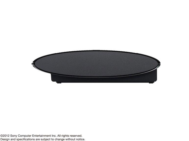 『本体 横置き 左側面』 プレイステーション3 HDD 250GB チャコール・ブラック CECH-4200B の製品画像