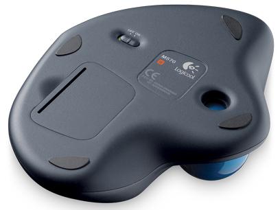 『本体 底面』 Wireless Trackball M570t の製品画像
