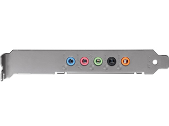 『本体 接続部分』 Sound Blaster Audigy Fx SB-AGY-FX の製品画像