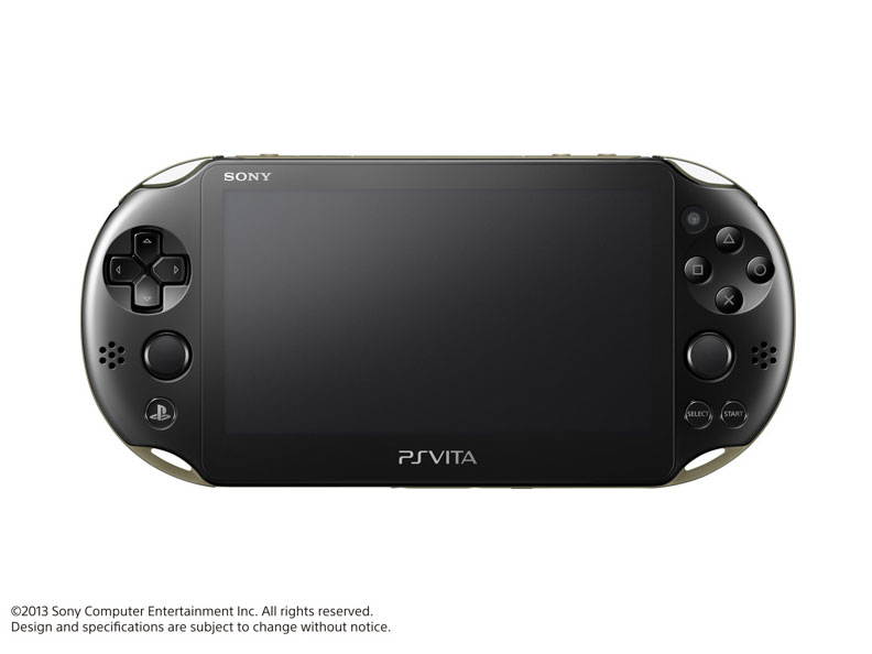 PlayStation Vita (プレイステーション ヴィータ) Wi-Fiモデル PCH-2000 ZA16 [カーキ/ブラック] の製品画像
