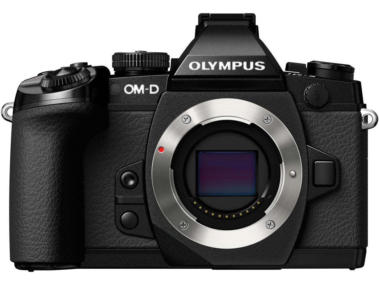 『本体 正面3』 OLYMPUS OM-D E-M1 ボディ [ブラック] の製品画像