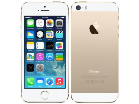 iPhone 5s 64GB SoftBank [ゴールド] の製品画像