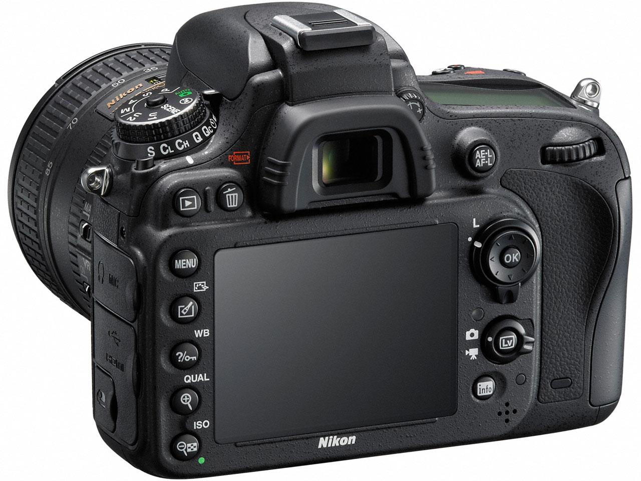 『本体 背面』 D610 24-85 VR レンズキット の製品画像