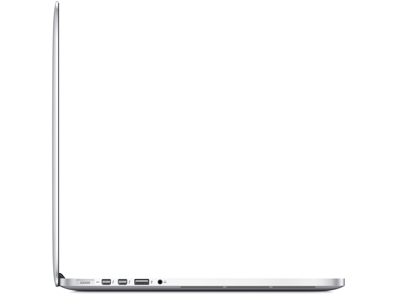 『本体 側面』 MacBook Pro Retinaディスプレイ 2300/15.4 ME294J/A の製品画像