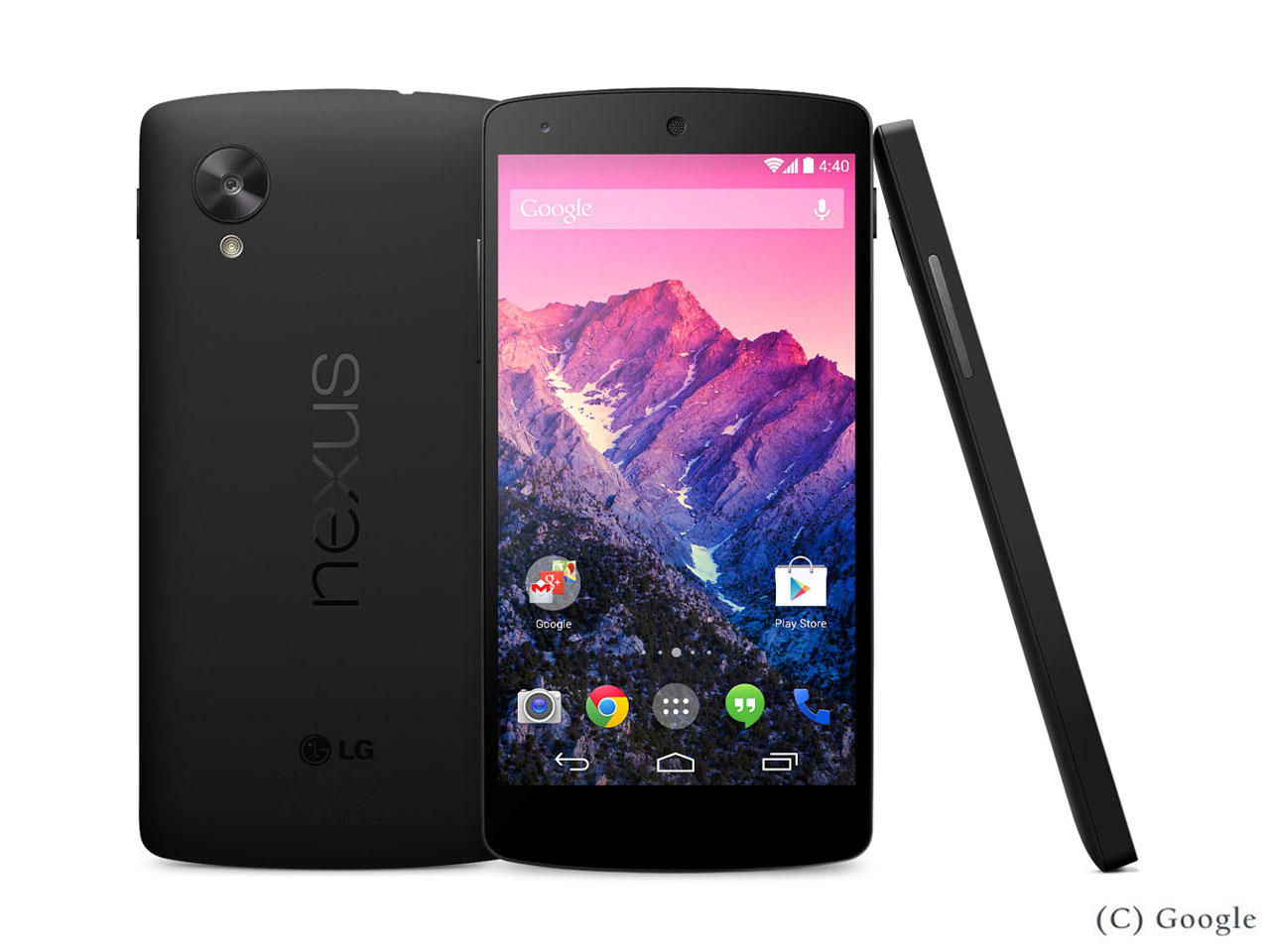 Nexus 5 LG-D821 32GB SIMフリー [ブラック] の製品画像