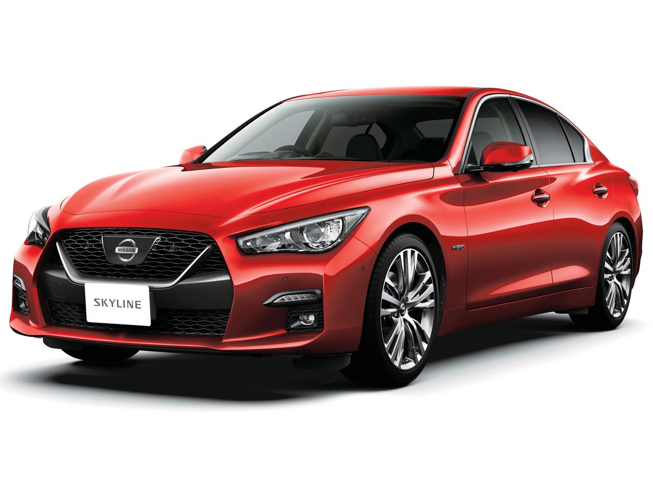日産 スカイライン ハイブリッド 2014年モデル 新車画像
