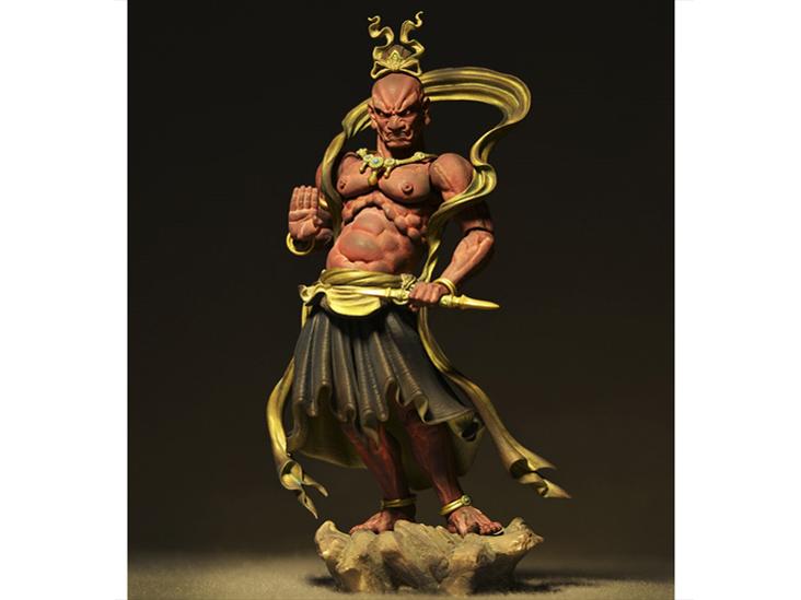 『アングル2』 リボルテックタケヤ No.017 金剛力士 吽形 の製品画像