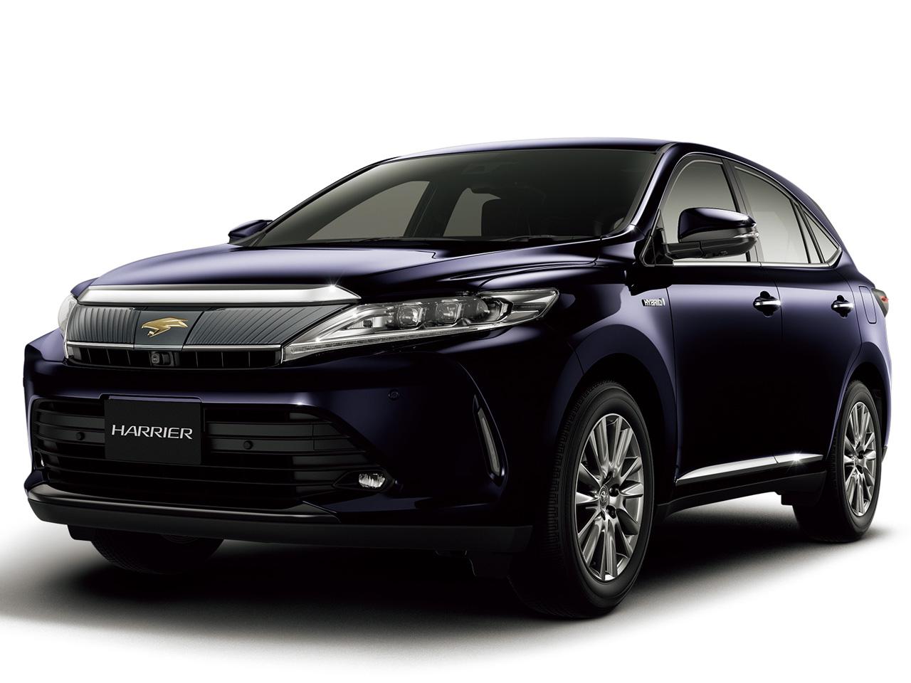 トヨタ ハリアー ハイブリッド 2014年モデル 新車画像