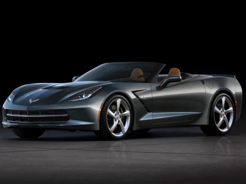 シボレー コルベット コンバーチブル 2014年モデル 新車画像
