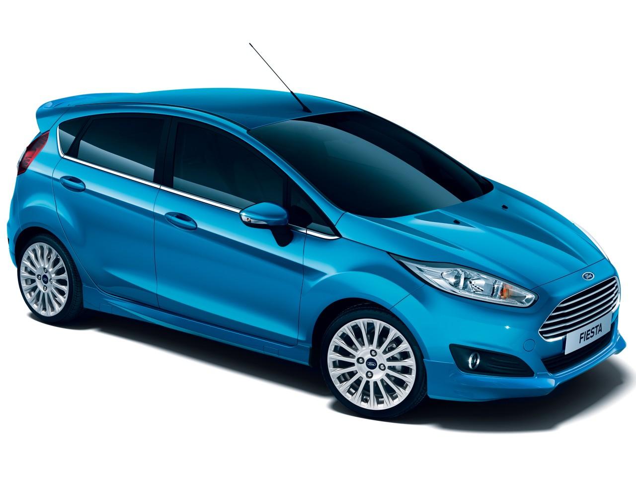 フォード フィエスタ 2014年モデル 新車画像