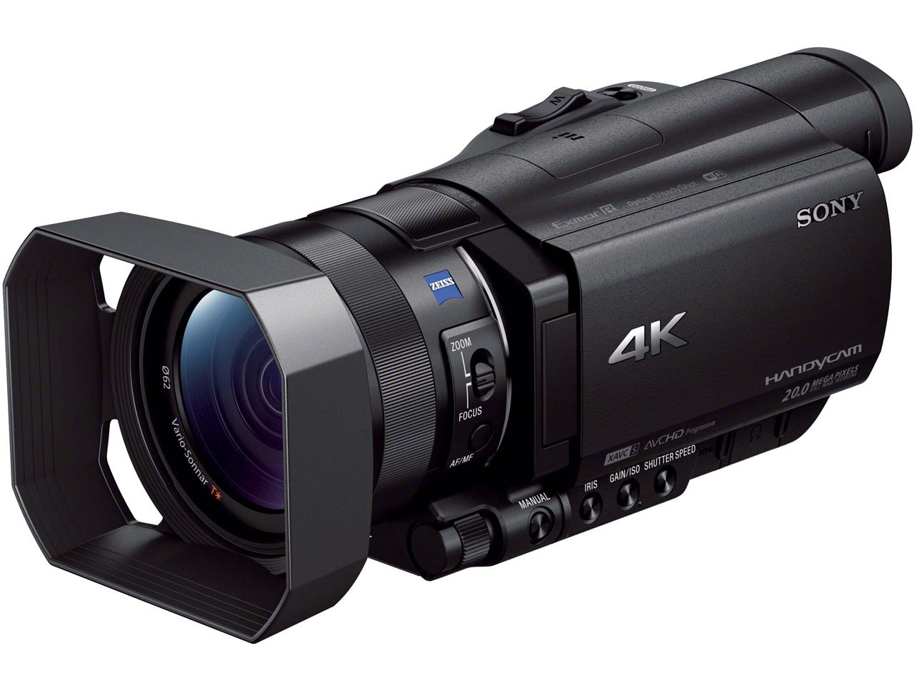 『本体2』 FDR-AX100 の製品画像