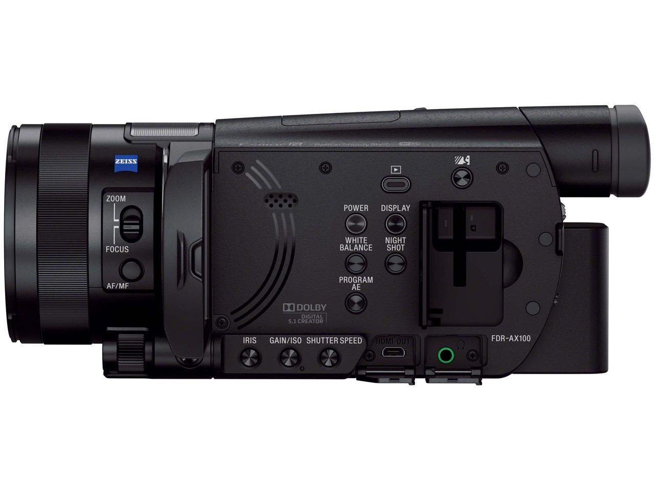 『本体4』 FDR-AX100 の製品画像