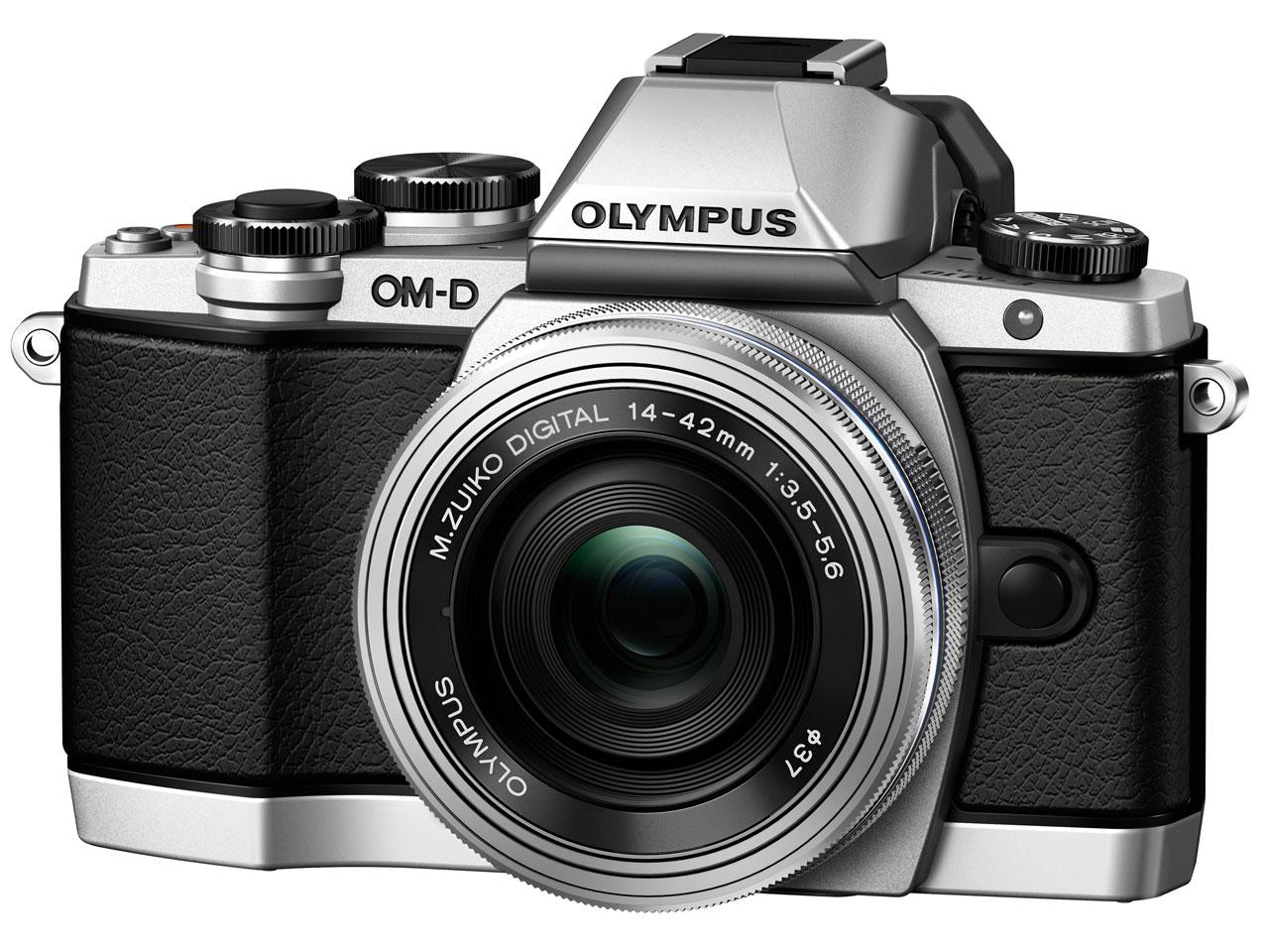 OLYMPUS OM-D E-M10 14-42mm EZ レンズキット [シルバー]
