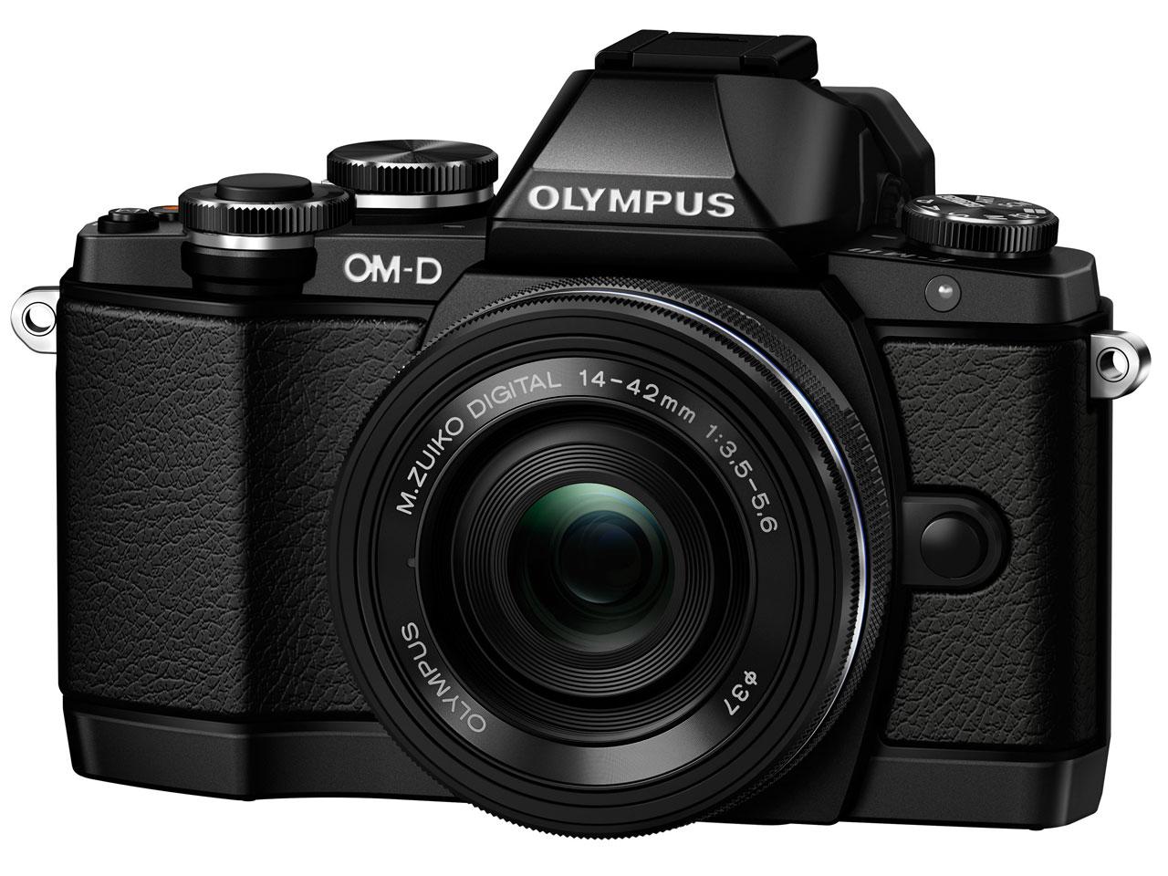 OLYMPUS OM-D E-M10 14-42mm EZ レンズキット [ブラック] の製品画像
