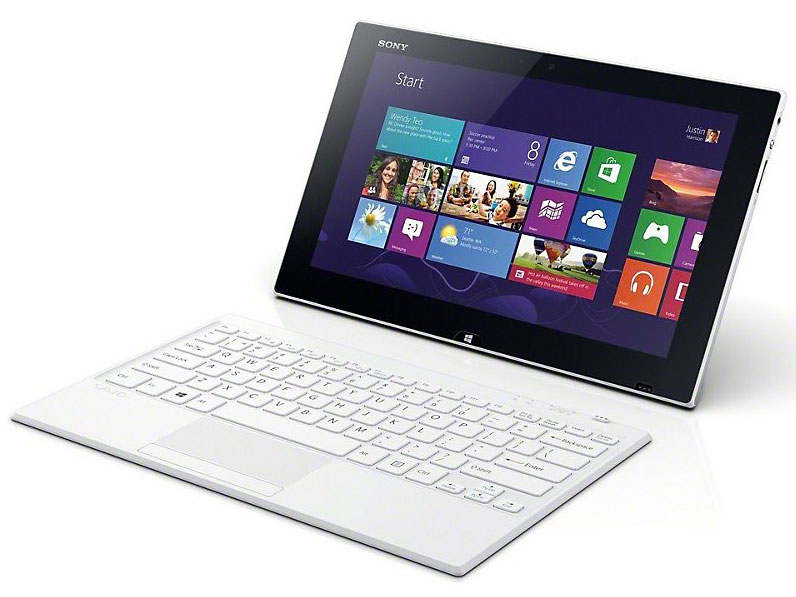 VAIO Tap 11 SVT1122A1J Pentium/メモリー4GB/SSD128GB/Windows 8.1/タッチパネル機能ありモデル [ホワイト] の製品画像