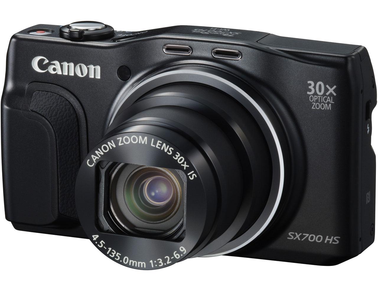 PowerShot SX700 HS [ブラック] の製品画像