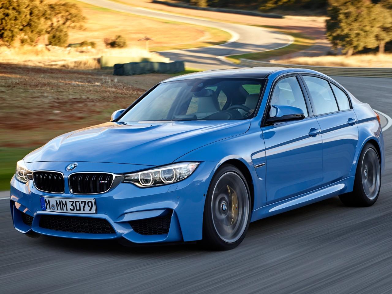 BMW M3 セダン 2014年モデル 新車画像