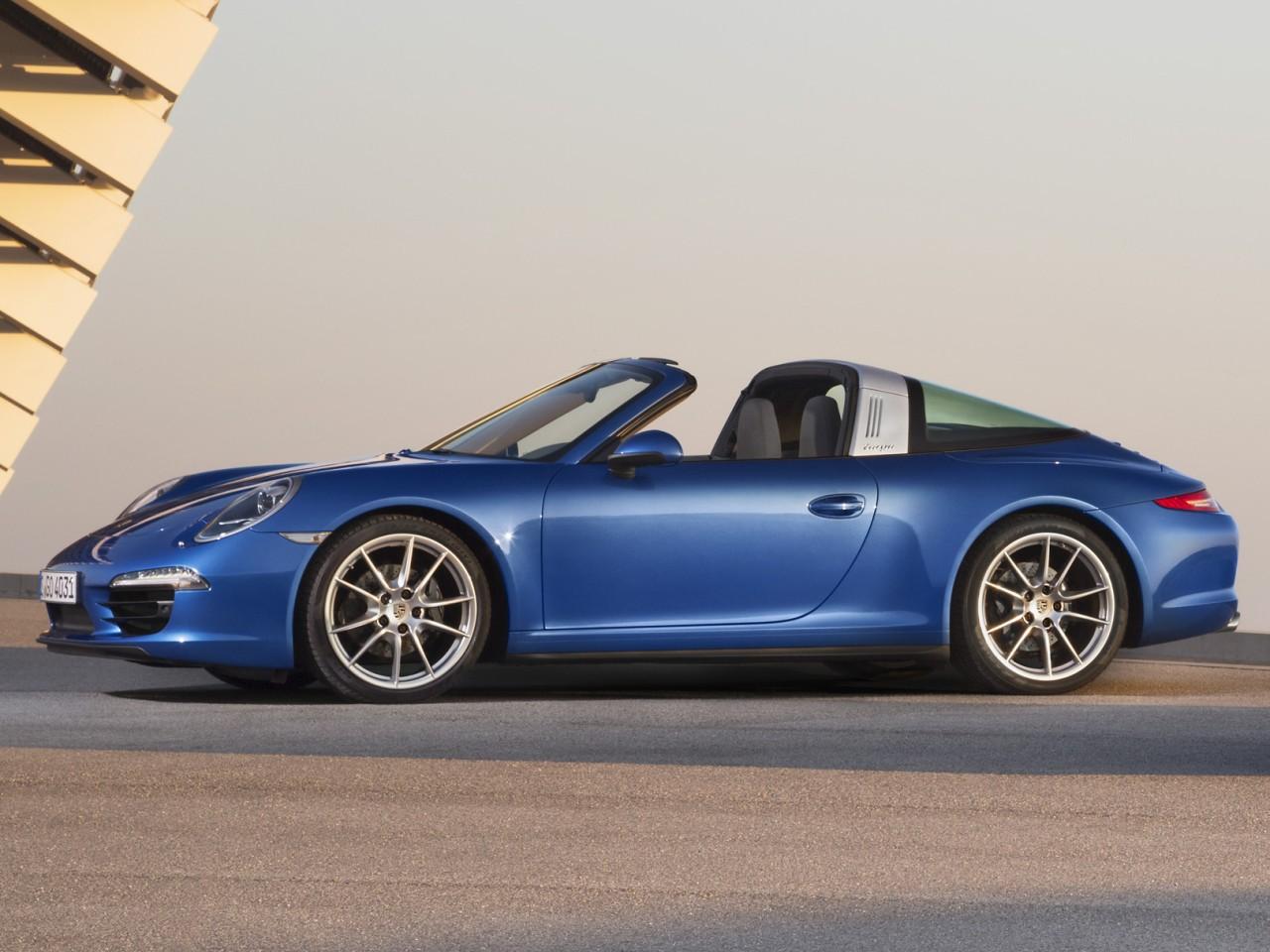 ポルシェ 911タルガ 2014年モデル 新車画像