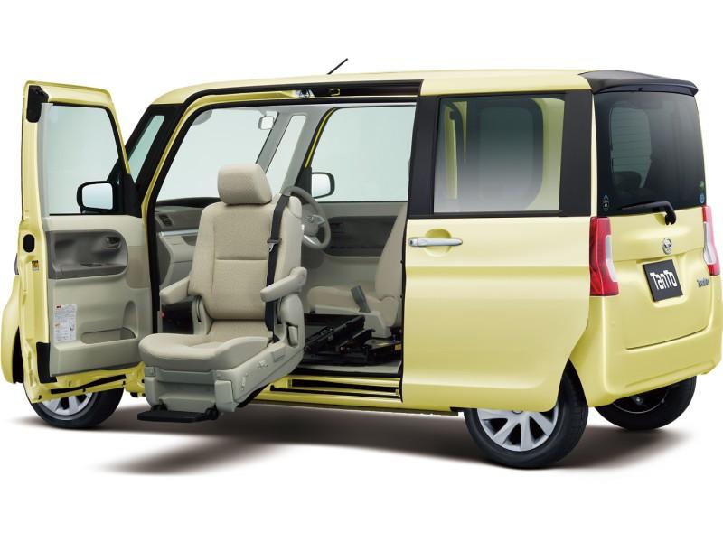 ダイハツ タント 福祉車両 2013年モデル 新車画像