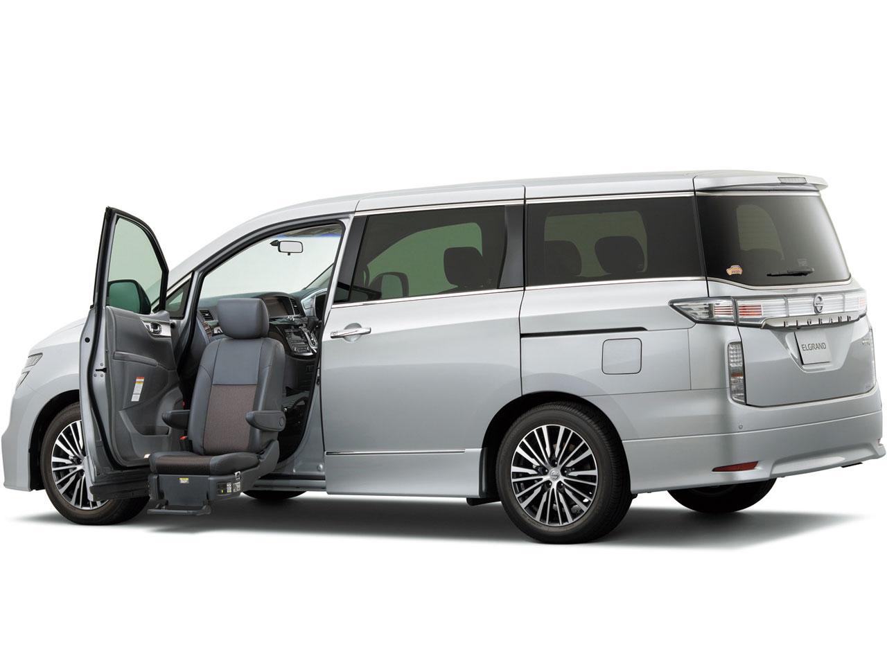 日産 エルグランド 福祉車両 2010年モデル 新車画像