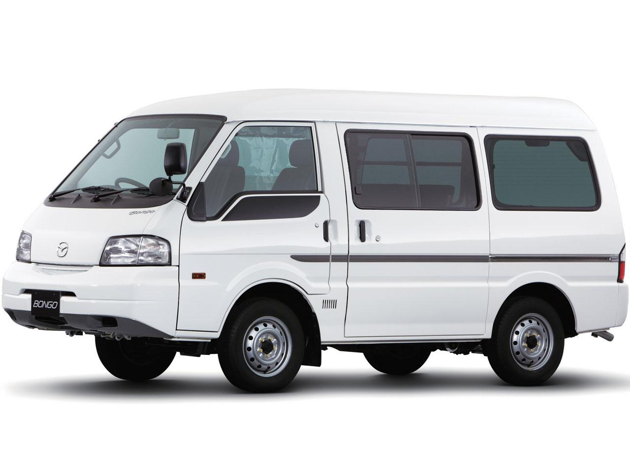 マツダ ボンゴ バン 商用車 1999年モデル 新車画像