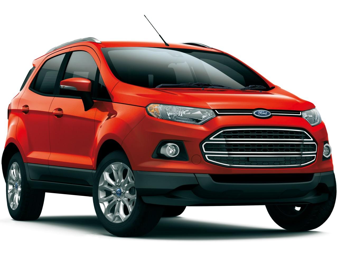 フォード エコスポーツ 2014年モデル 新車画像