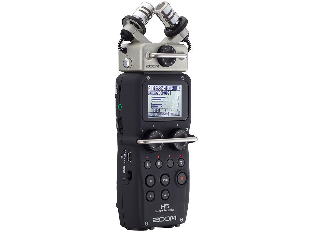 『本体 斜め』 Handy Recorder H5 の製品画像