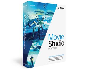MOVIE STUDIO PLATINUM 13 の製品画像