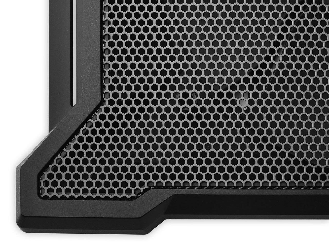 『本体 部分アップ』 NOTEPAL X-SLIM II R9-NBC-XS2KJ-GP [Black] の製品画像