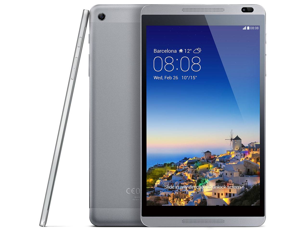MediaPad M1 8.0 LTEモデル SIMフリー [チタニウムグレー] の製品画像