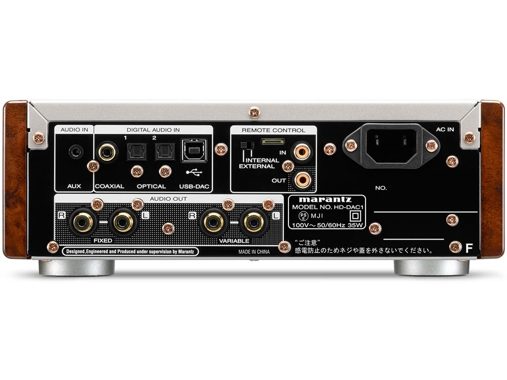 『本体 背面』 HD-DAC1 の製品画像