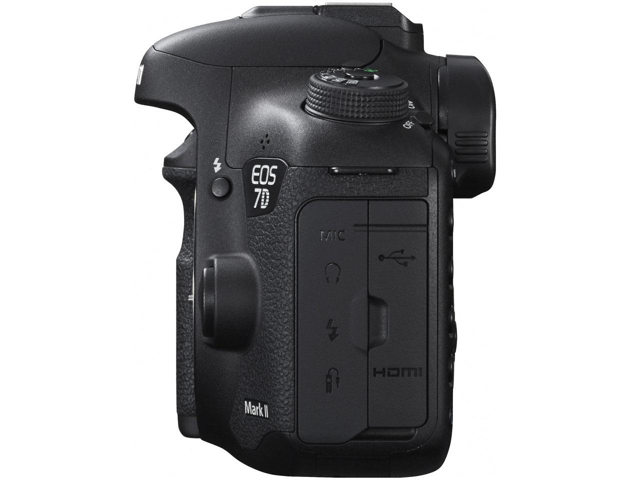 『本体 右側面1』 EOS 7D Mark II ボディ の製品画像