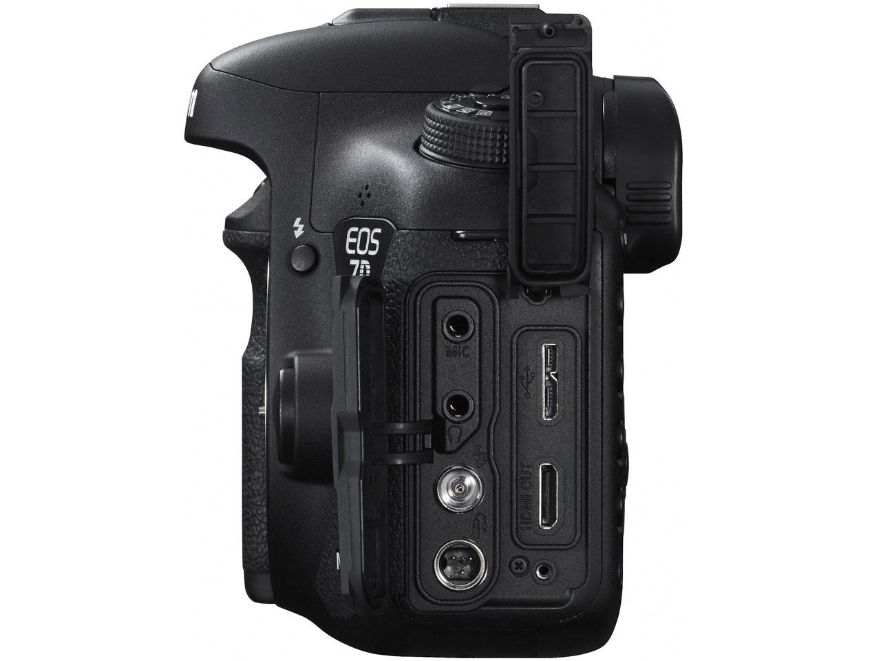 『本体 右側面2』 EOS 7D Mark II ボディ の製品画像