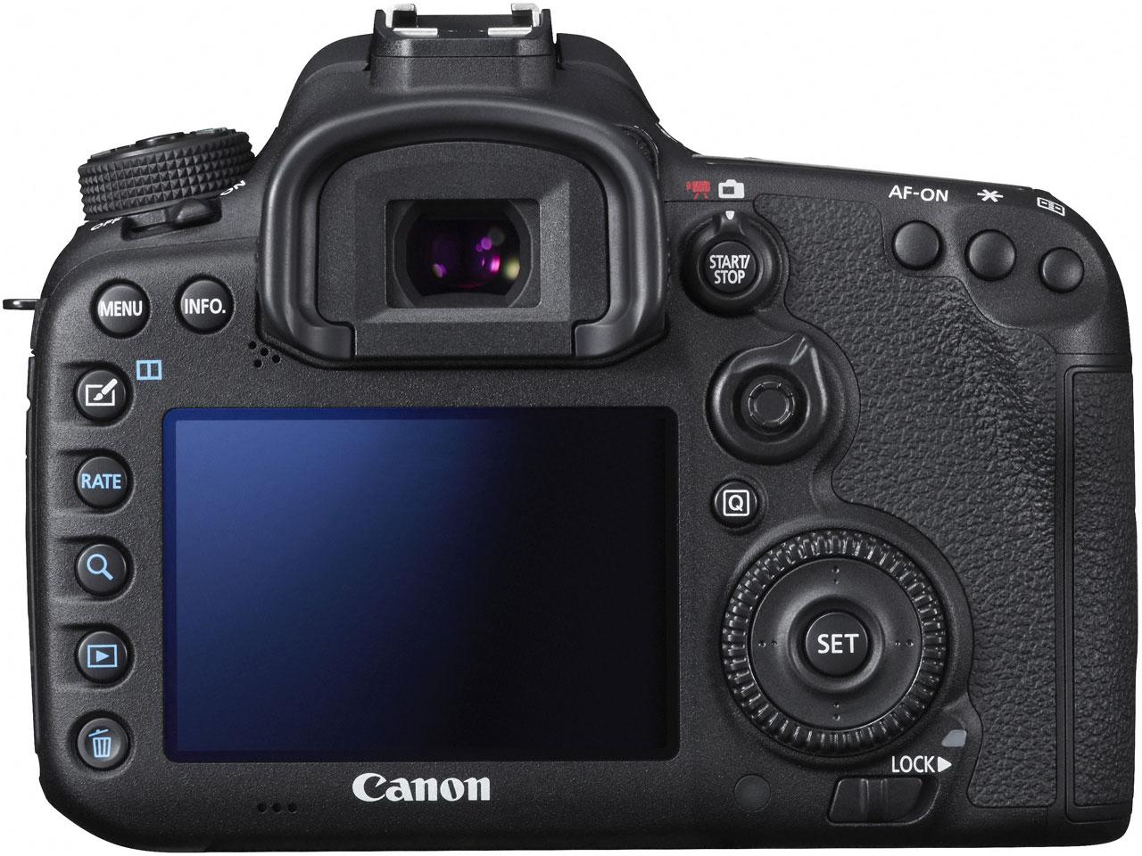 『本体 背面』 EOS 7D Mark II EF-S18-135 IS STM レンズキット の製品画像