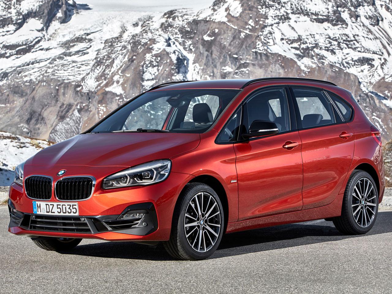 BMW 2シリーズ アクティブツアラー 2014年モデル 新車画像