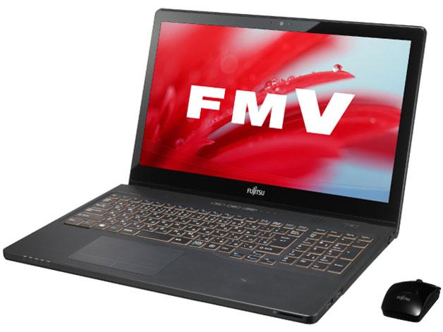FMV LIFEBOOK AH77/S FMVA77SB [シャイニーブラック] の製品画像