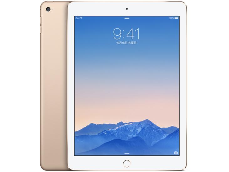 iPad Air 2 Wi-Fiモデル 16GB MH0W2J/A [ゴールド] の製品画像