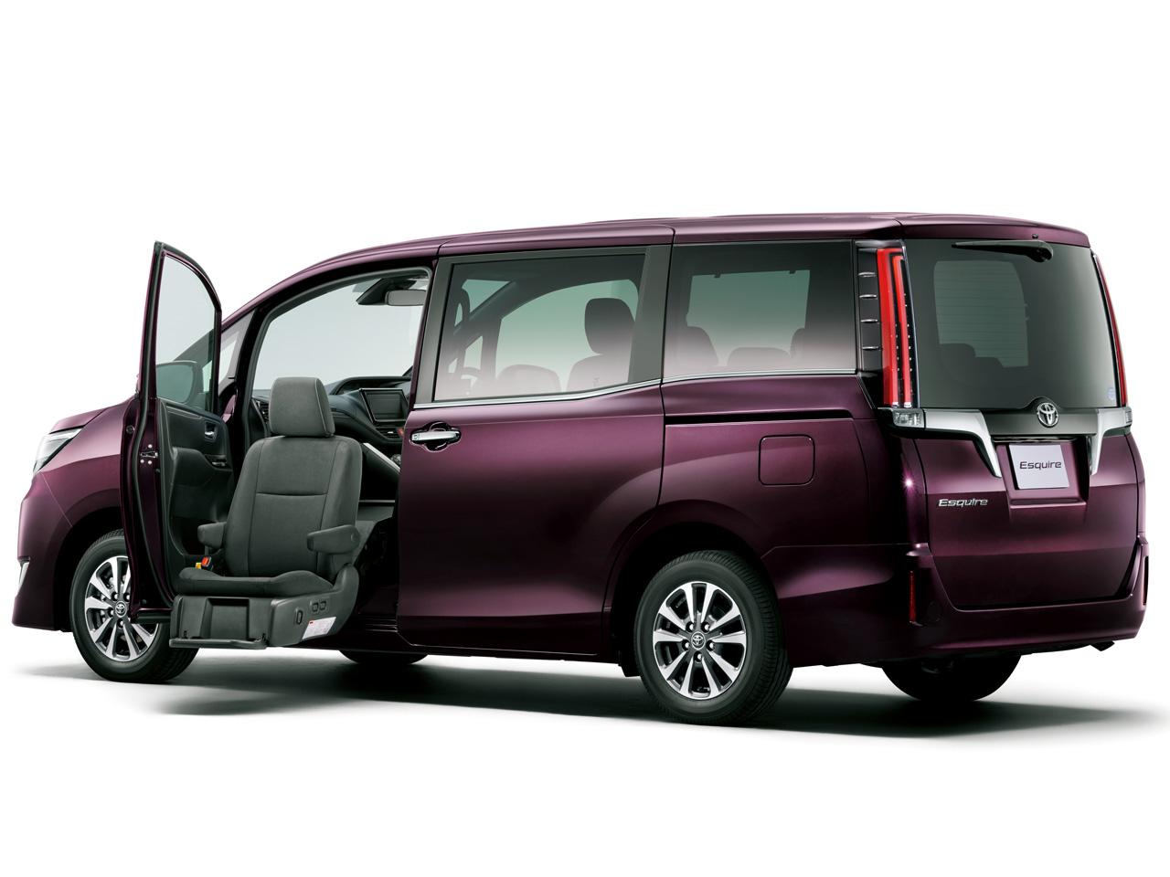 トヨタ エスクァイア 福祉車両 2014年モデル 新車画像
