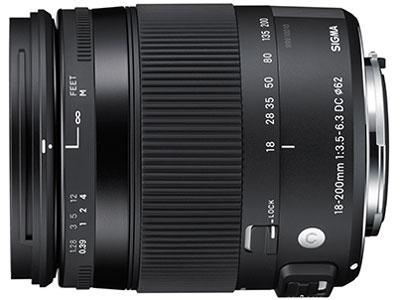 18-200mm F3.5-6.3 DC MACRO HSM [ペンタックス用] の製品画像