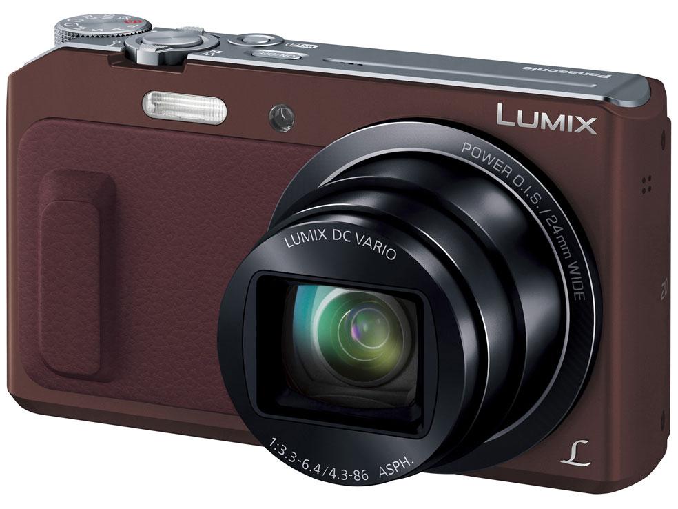 LUMIX DMC-TZ57-T [ブラウン] の製品画像
