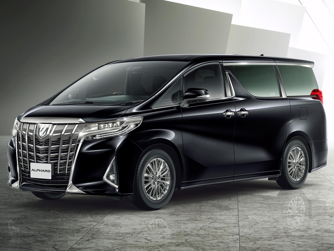 トヨタ アルファード 2015年モデル 新車画像