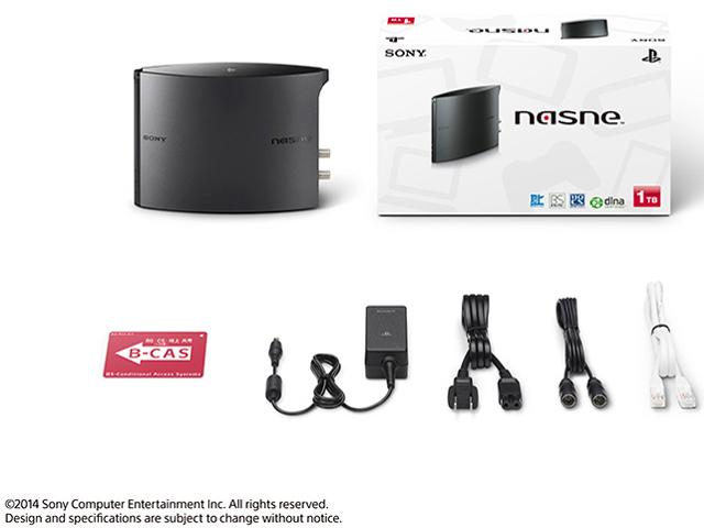 『セット内容』 nasne(ナスネ) CECH-ZNR2J 01 [1TB] [ブラック] の製品画像